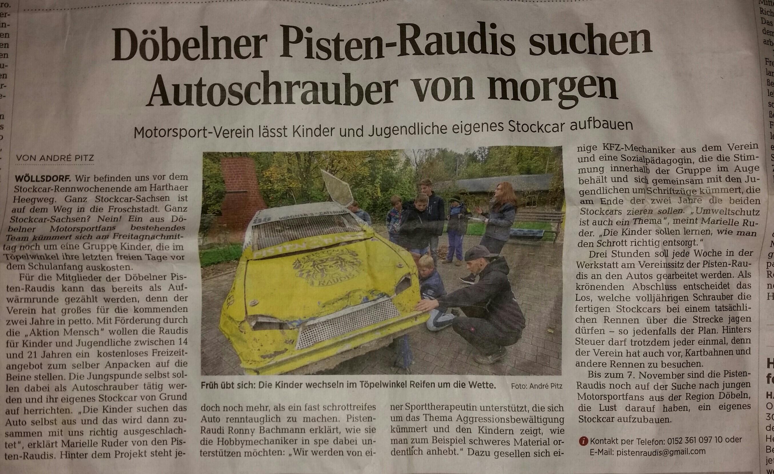 Döbelner Allgemeine Zeitung 24.10.2015